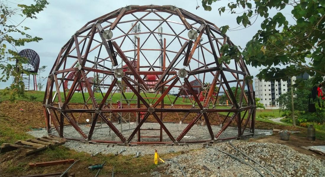 Geodesic dome – Jasper Niens